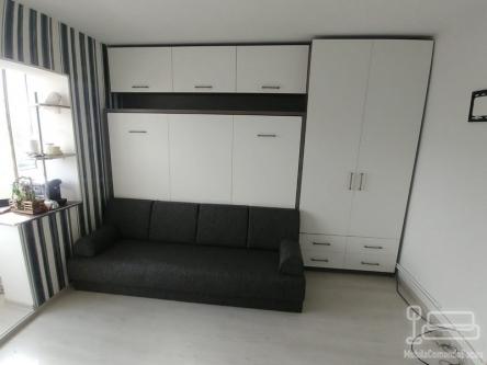 Dormitor Copil cu Pat Rabatabil cu Canapea D 348