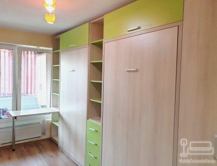 Dormitor copii cu doua paturi rabatabile D 405