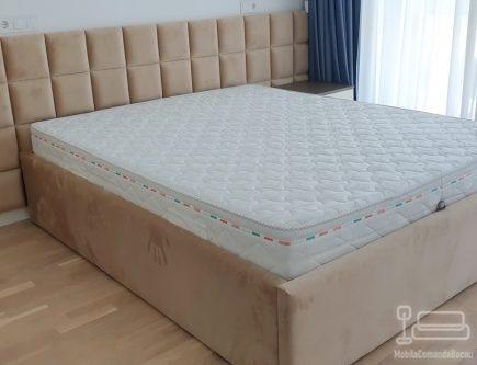 Dormitor comanda pat tapitat