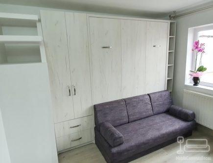 Mobila dormitor cu pat rabatabil in Barlad