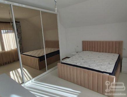 Dressing dormitor cu oglinda fumurie