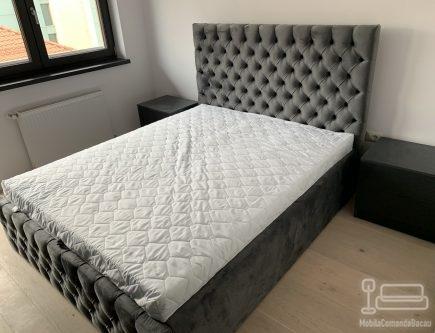 Pat de dormitor tapitat PT 036
