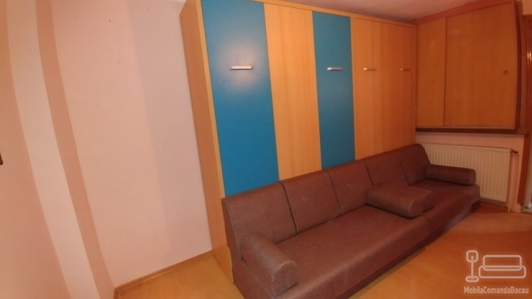 Living cu doua paturi rabatabile si canapea D 270