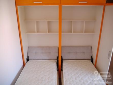 Dormitor cu Pat Rabatabil  D 187