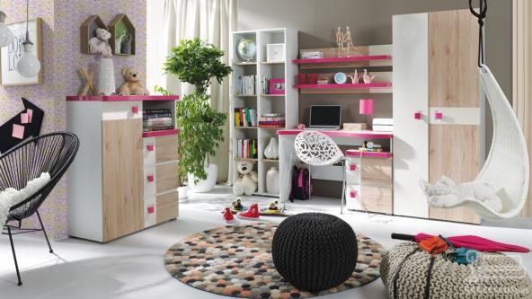 Dormitor Copii Colorato Roz