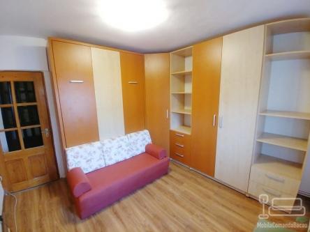 Mobilier de dormitor pe colt cu pat rabatabil D 343