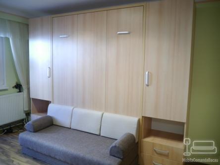 Mobila de sufragerie cu Pat Rabatabil si Canapea D 096