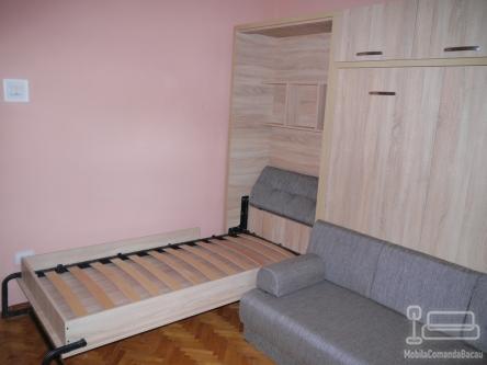 Doua paturi rabatabile cu Canapea D 185