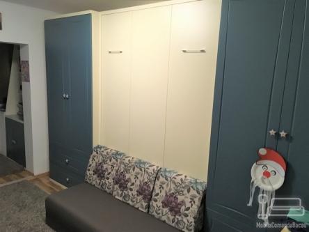 Dormitor cu Pat Rabatabil si dulapuri D 217