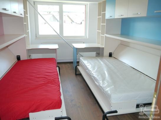 Dormitor Copii cu Pat Rabatabil D 098