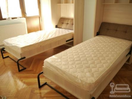 Dormitor pentru copii cu trei Paturi Rabatabile C 040