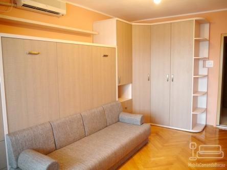 Living cu Pat Rabatabil si Canapea D 186