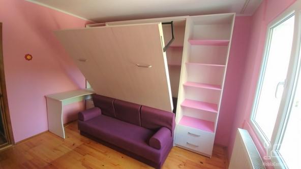 Dormitor cu Pat Rabatabil pe perete pentru copii D 246