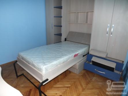 Camera de copii cu pat rabatabil cu Canapea D 045