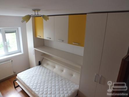 Mobila de dormitor pentru copii cu Pat Rabatabil D 052