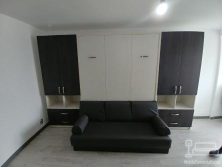 Set dormitor cu pat rabatabil  si Canapea D 318