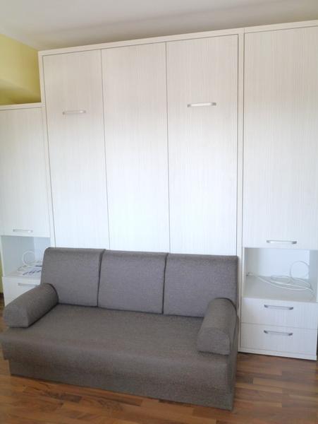 Pat rabatabil cu canapea d 236 evomobdesign for Canapea pat
